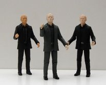 Auton Twin Pack with Auton in grey suit from Series 1 6 Figure Gift Pack