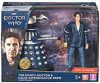 B and M 8th Doctor and Dalek Interrogator Prime 2019