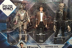 Series 6 Set with Corroded Cyberman, Eleventh Doctor (Stetson) & Silent