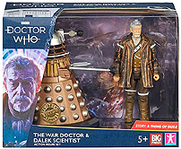 B and M War Doctor and Dalek Scientist 2019
