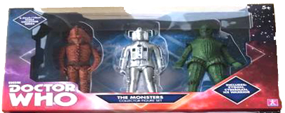 Series 6 Set with Zygon, Cyberman and Ice Warrior
