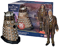 Big Finish Limited Edition 150 Pieces War Doctor and Dalek Scientist August 2019