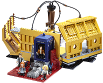 Doctor Who Character Building Console Room Playset