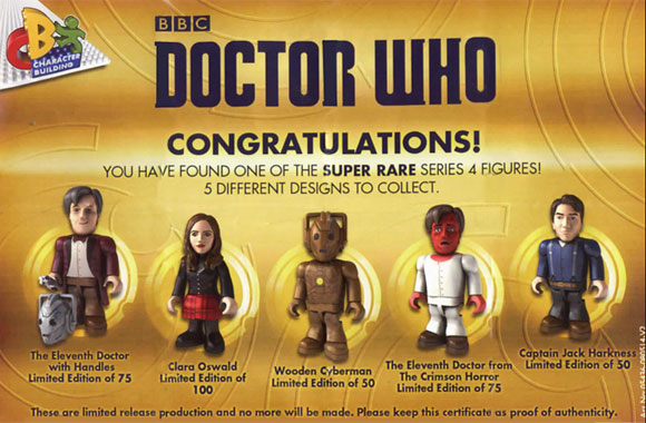 Doctor Who Character Building Micro Figures Series 4