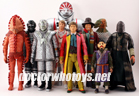 Classic Doctor Who Figures