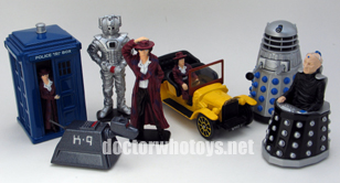 Corgi Doctor Who 40th Anniversary Film Can Set
