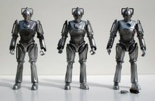 Cyberman, Cyberman With Arm Weapon and Cyber Leader