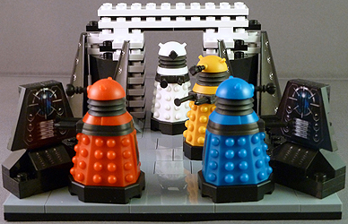 Doctor Who Character Building Dalek Progenitor Room Set