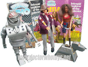 Denys Fisher Mego Doctor Who Toys