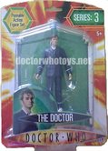 The Doctor, red plimsoles and no glasses