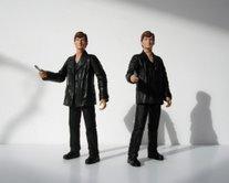 The Doctor Regeneration Set 10th Doctor and new version The Doctor from the 10 Figure Gift Set and 6 Figure Gift Pack, also found in the 2007 US version of The Doctor Regeneration Set
