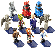 Doctor Who Character Building Micro Figures Series 1 Assortment with Bases