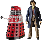 Eighth Doctor with Dalek Alpha