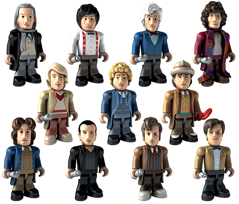 5th Fifth Doctor Character Building micro-figure Doctor Who