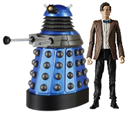 Eleventh Doctor with Dalek Strategist