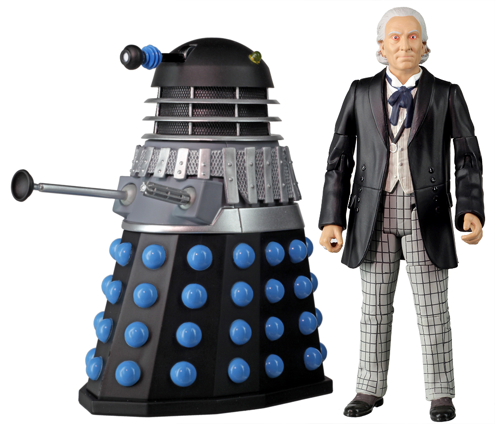 Doctor who action figures the first doctor with supreme - Doctor who dalek pics ...