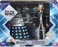 First Doctor with Dalek