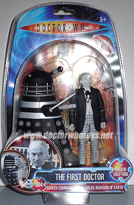 The First Doctor William Hartnell & Dalek (Invasion of Earth 1964)