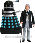 The First Doctor William Hartnell & Saucer Dalek (Invasion of Earth 1964)