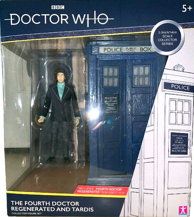 The Fourth Doctor Regenerated and Tardis
