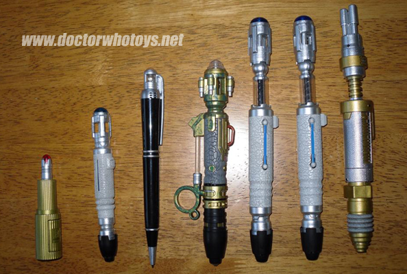 river song sonic screwdriver instructions