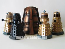 Genesis Ark and Daleks