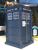Hide Caliburn House Adventure Set Dematerialising Tardis