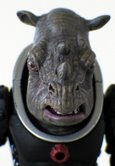 Judoon Captain (grey) found single carded and in the Series Three 10 Figure Gift Set (2007)