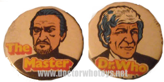 Kelloggs Doctor Who badges  - Thanks Ian O