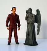 Laszlo and Weeping Angel Series 3 Action Figures