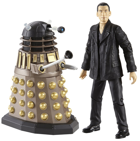 Ninth Doctor with Dalek