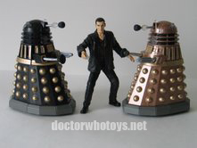 Dalek Battle Pack Ninth Doctor (Burgundy Shirt)