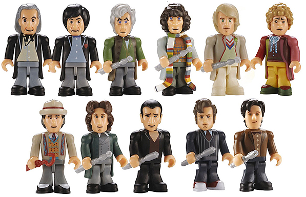 Original Character Building Eleven Doctors Micro-Figures from the Eleven Doctors Micro-Figures Set 2011