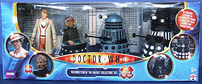 Resurrection of the Daleks Collectors Set - Thanks Cyberlek