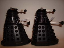 Dalek Sec and RC Dalek Sec compared