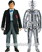 The Second Doctor Patrick Troughton & Cyberman (Tomb of the Cybermen 1967)
