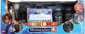 Signed LE Destiny of the Daleks Set