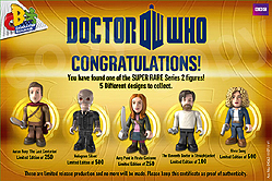 Series 2 Character Building Super Rare Micro Figures