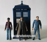 Flight Control Tardis and Figures