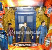 Flight Control Tardis & Figures