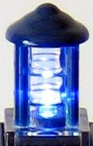 Tardis Cookie Jar Lamp detail