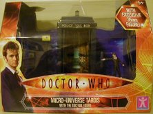 Micro Universe TARDIS - Thanks James