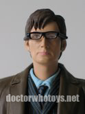 10th Doctor 2007 in Trenchcoat, White Plimsoles and Glasses