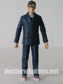 10th Doctor in Blue Suit with Glasses and Red Plimsoles