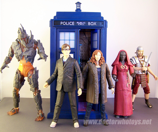 Doctor who series 4 toys also