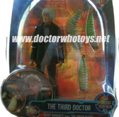 Third Doctor with Giant Maggots from The Green Death (1973)