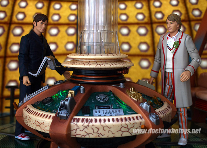 doctor who action figures time crash set