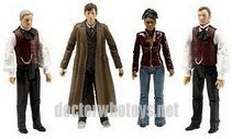 Professor Yana, The Doctor, Martha Jones & The Master